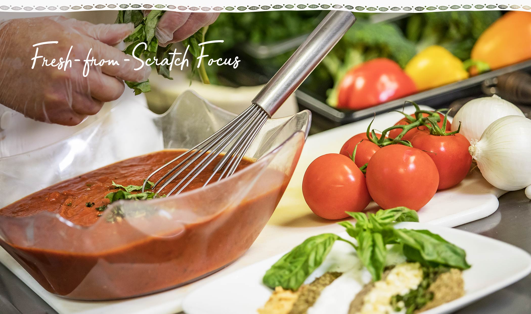 Fresh from Scratch Focus