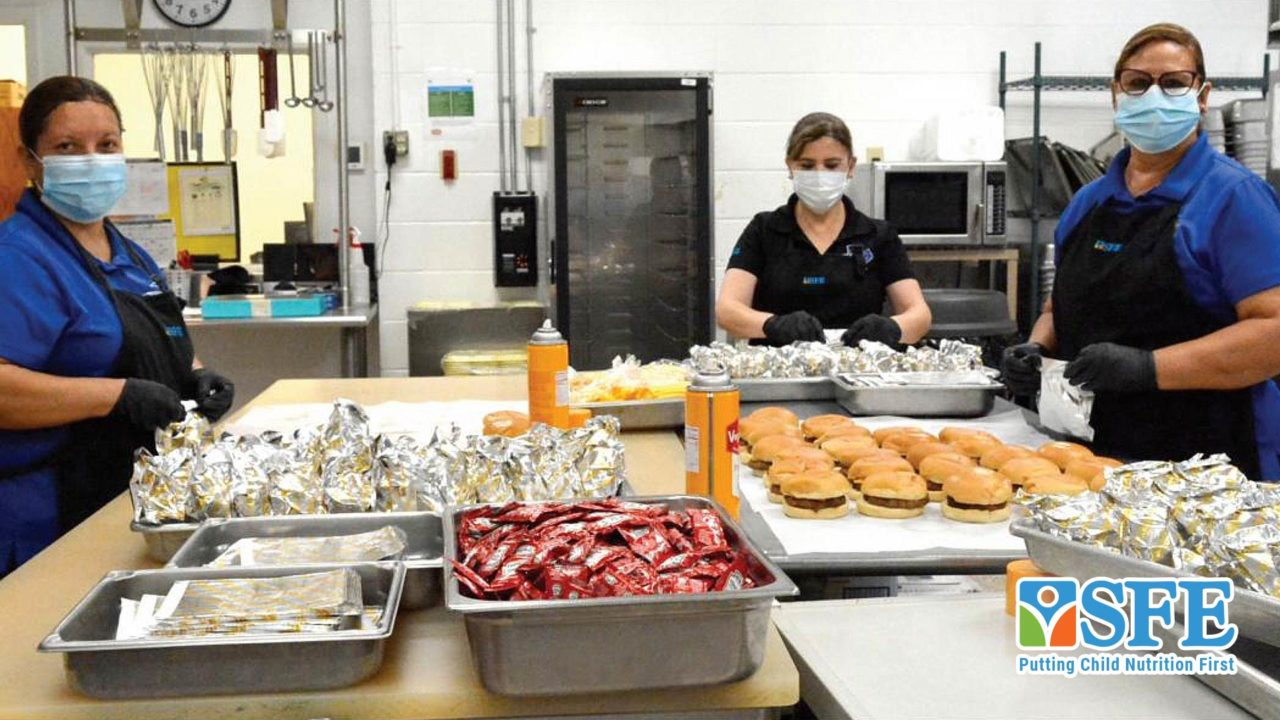 Nutritional Values - SFDRCISD Delivers Meals for Hungry Students
